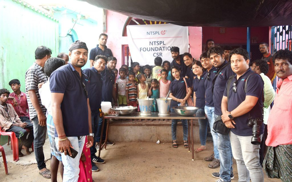 Victims of Cyclone Fani being served 2nd time by NTSPL Foundation