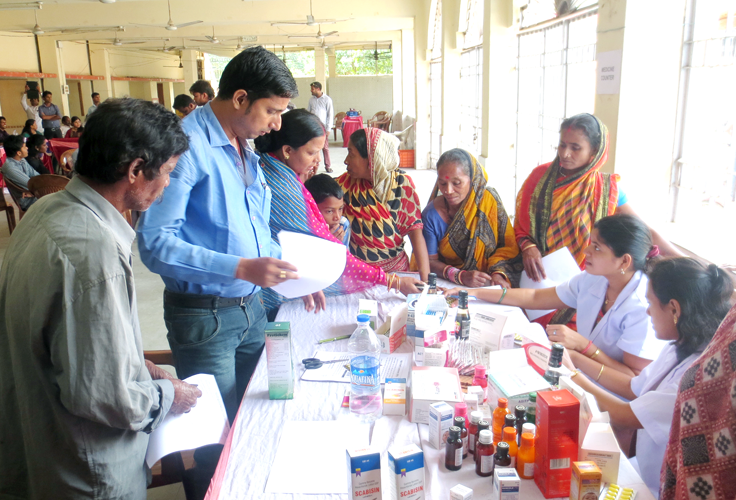 Free Health Checkup Camp supported by NTSPL Foundation