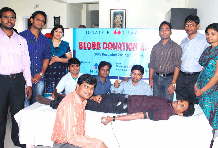 NTSPL goes beyond business. NTSPL Foundation was organised a blood donation camp at Bhubaneswar.