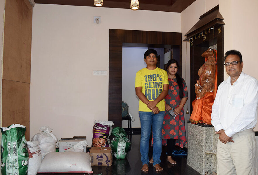 NTSPL Foundation donated one-month grocery kits to Asha Kiran Old Age Homes for more...