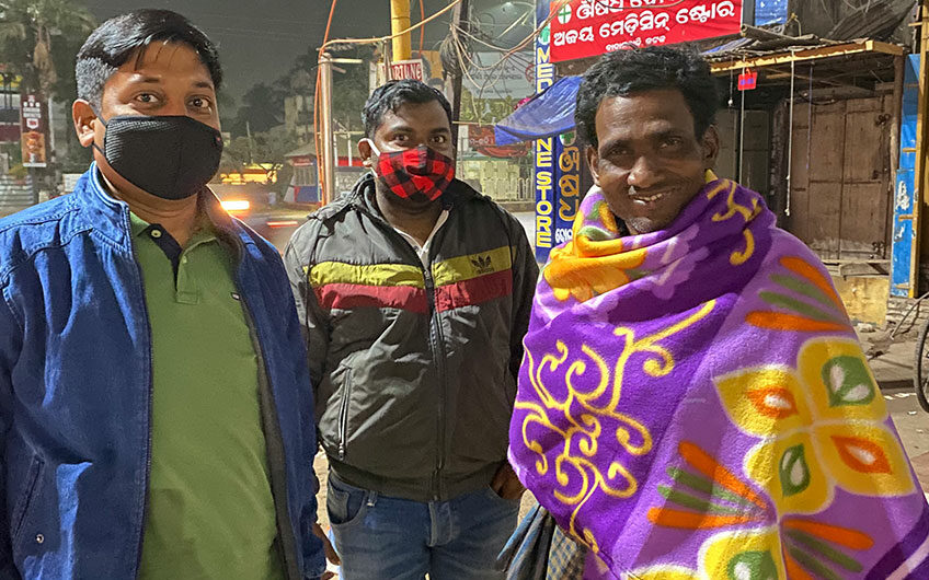 NTSPL Foundation donated blankets to homeless and slum-dwellers in this winter.